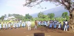 Pupils of Catholic School of Muea before blood collection: cliquer pour aggrandir